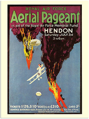 Aerial Pageant - Royal Air Force Poster