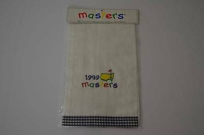 Masters Augusta National Baby Infant Burp Cloth Embroidered Cotton 1999