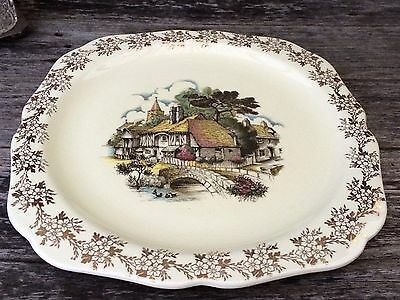VINTAGE SERVING PLATE LORD NELSON WARE ELIJAH COTTON No. 3135