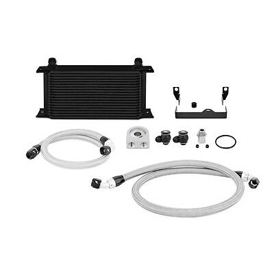 Mishimoto Oil Cooler Kit - fits Subaru Impreza WRX & STi - 2006-2007 Black