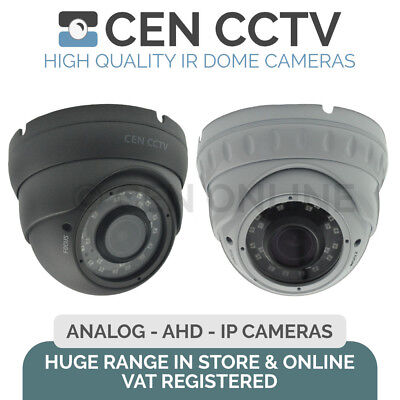 CEN CCTV Analog, AHD, IP POE 1/3 IR Security Dome Cameras Sony 2MP 3MP 4MP 1080P