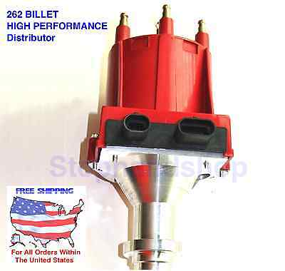New PRO BILLET HIGH PERFORMANCE IGNITION DISTRIBUTOR for GMC CHEVY V6 4.3L 262