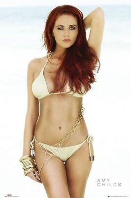 AMY CHILDS PINUP POSTER (61x91cm) BIKINI SWIMSUIT SEXY PICTURE PRINT NEW ART