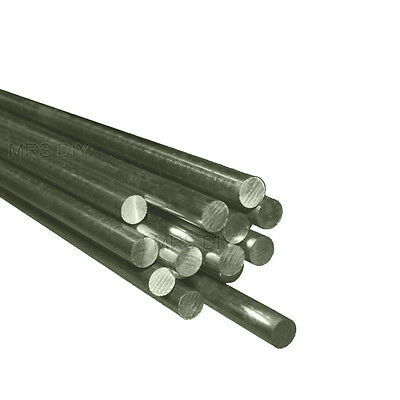 A4 MARINE GRADE Stainless Steel Round Bar Grade 316 CHOOSE A SIZE- All Sizes