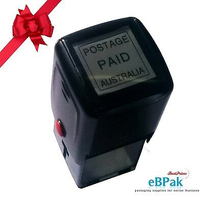 - POSTAGE PAID AUSTRALIA -  Pre-Inked Stamp for POST Business Account