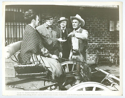 RANDOLPH SCOTT, DON MEGOWAN original movie photo 1955 THE LAWLESS STREET