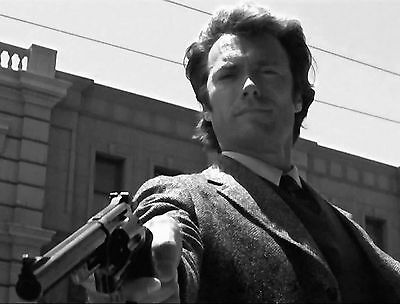 Clint Eastwood Dirty Harry Movie Star 8X10 Glossy Photo - Classic!!