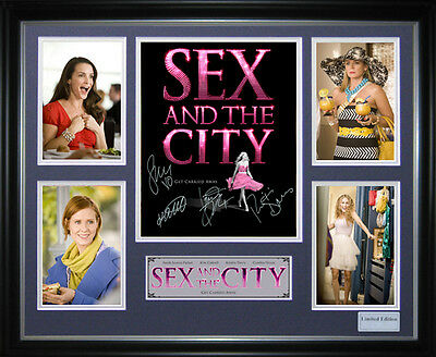 Sex in the City Signed Framed Memorabilia