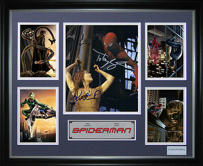 Spiderman Signed Framed Memorabilia