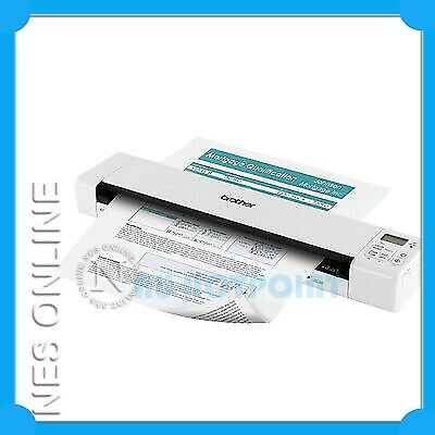 Brother DS-620 Mobile A4 Colour Document Scanner+7.5PPM/300dpi/USB Bus Power NEW