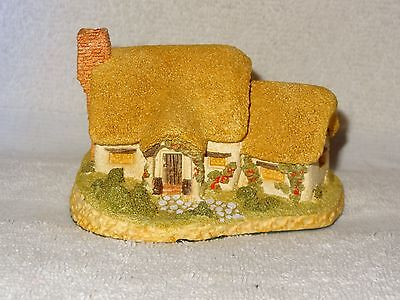 Hand Made & Painted Rose Cottage by David Winter Figurine- 1980- Great Britain