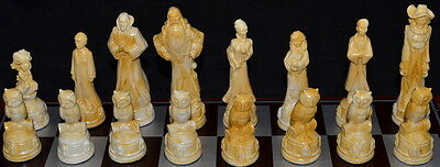 Harry Potter Chess set- marble effect finish- NEW CHARACTERS