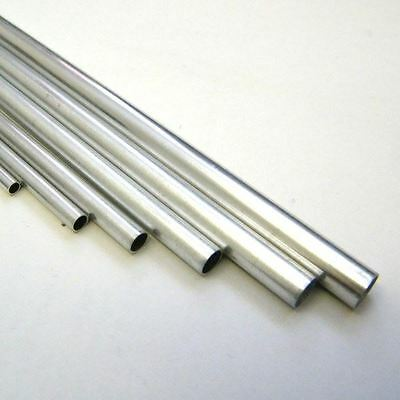 "Aluminium Tubing for Model Making - 12"" Long"