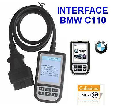Scanner C110 Bmw Interface Valise Diagnostic Diagnostique Obd Obd2 Obdii Diag
