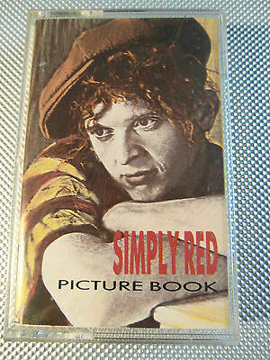 Simply Red - Picture Book - Album Cassette Tape - Used very good