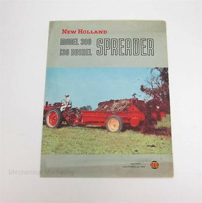New Holland Model 300 130 Bushel Spreader Brochure Literature