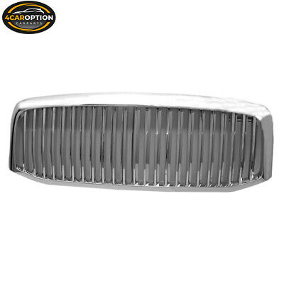 Fits 06-08 Dodge Ram 1500 2500 3500 Chrome Grille Grill