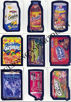 WACKY PACKAGES STICKERS ANS A NEW SERIES 1 2004 COMPLETE BASE CARD SET OF 55