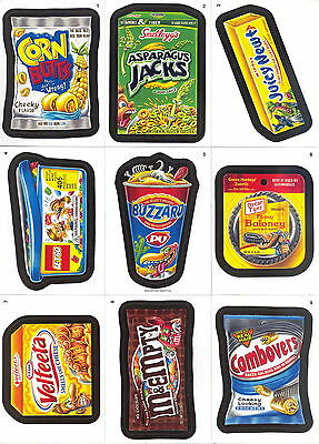Wacky Packages A New Series Ans 9 2012 Topps Complete Base Card Set Of 55 Sf