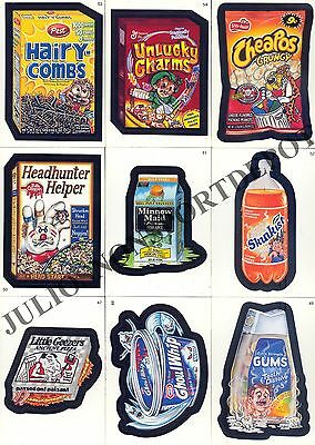 Wacky Packages A New Series Ans 2 2005 Topps Complete Base Card Set Of 55 Sf