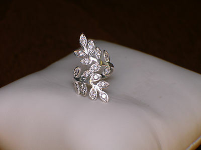 Sterling silver 925 ring Cz jewellery womens size