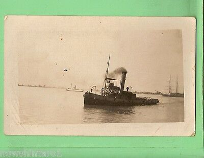 #d.   Shipping Postcard - Tugboat