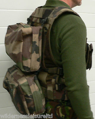Tactical Vest Military DPM Camo Molle Pouches + Backpacks, Genuine Army Surplus