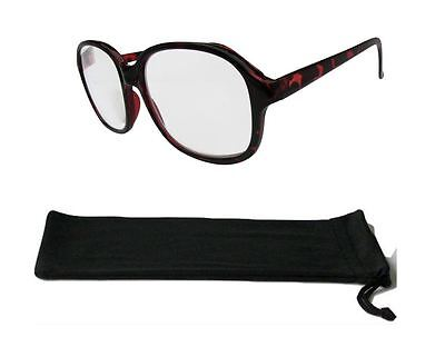High Strength Extra Strong Magnifying Power Reading Glasses +4.50 to +6.00