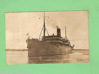 #d.   Shipping Postcard - Ship Leaving Kingston Harbour