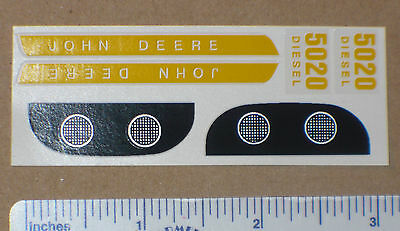 Decal Set for 1/16 5020 JOHN DEERE Toy Tractors Computer Cut