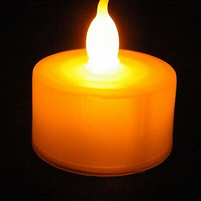 Led Candles Flickering Tea Light Flameless Candles Battery Tealights
