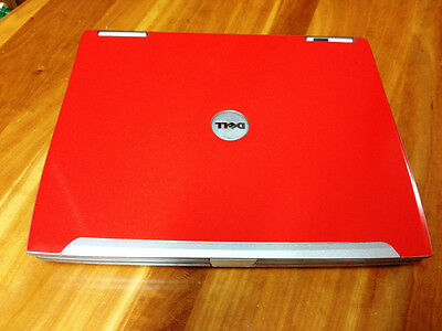 Red Dell Latitude D610 P4 M 1.86ghz 1gb 40gb Win XP Wifi DVD Laptop Notebook