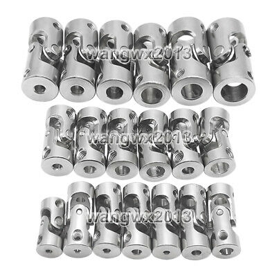 2//3//4//5//6//8//10mm Motor Shaft Coupler connector Universal Joint Coupling For DIY