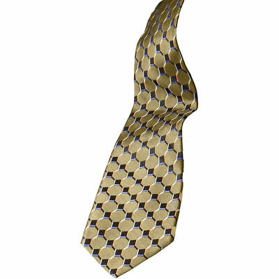 Edwards Garment Fully Lined Casual Silk Pattern Tie. HC00
