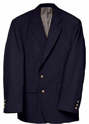 Edwards Garment Men's Formal Fully Lined Two Button Polyester Value Blazer. 3500