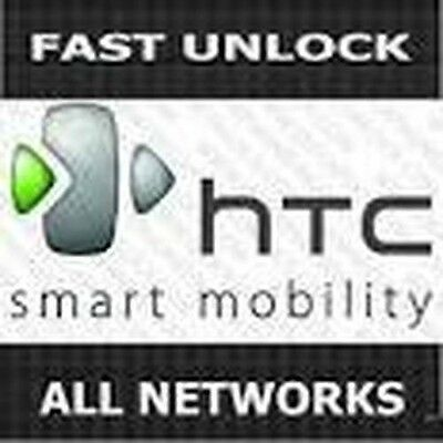 1-60 Minutes Express Unlocking Code for All HTC Models One S, One V, Hero, etc..
