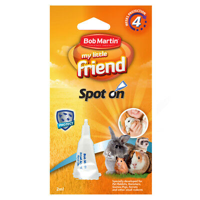 Bob Martin My Little Friend Spot On Flea Treatment for Small Animals, Hamsters
