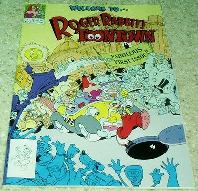 NM- 9.2 1991 Roger Rabbit Toontown 3