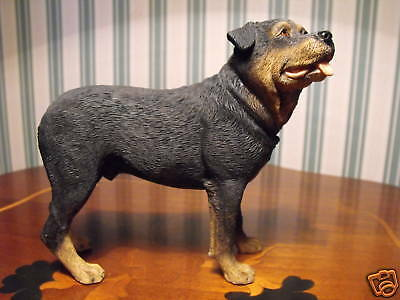 Rottweiler  Dog Figurine  Model  Ornament / Figure Figurine . Rotweiller Figure