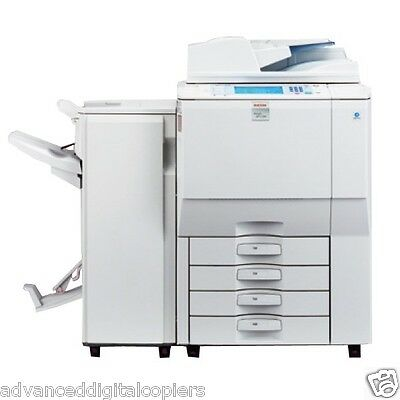 Ricoh Aficio MP 6001 copier - 60 page per minute - color scanning with low meter