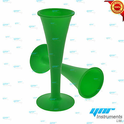 YNR Pinard Stethoscope Horn Fetoscope Green Medical Diagnostic Examination
