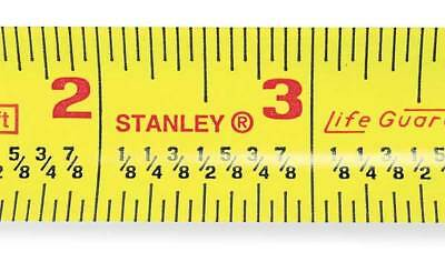 "25 ft. Fractional Read Tape Measure, 1"" Blade STANLEY 30-454"