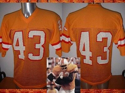 Tampa bay Buccaneers 43 Shirt Jersey Sand-Knit Vintage NFL Football M USA Top