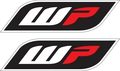 Factory Effex Fork and Swingarm Stickers Black/White/Red WP 17-44080 Sticker