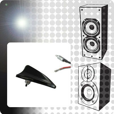 Audi A3 8L1 1.8 ACP Universal Aero Amplified AM/FM Shark Fin Aerial Upgrade XE0