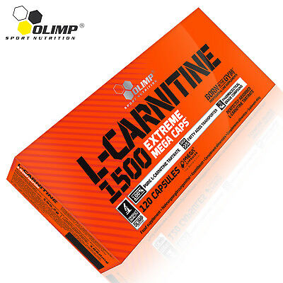 L-CARNITINE 1500mg 30-150Caps Strong Fat Burner Turn Fat Into Energy Weight Loss