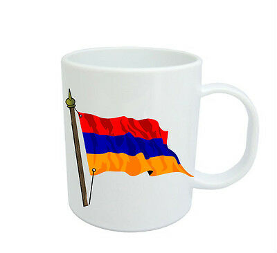Armenian Flag  Coffee Mug Free Personalisation Armenia