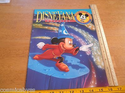 The Disneyana Magazine V.1 #1 1994 Convention 1st issue VF/NM