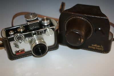 ARGUS LC3 GOLDEN SHIELD PHOTO CAMERA WITH 50mm F-3.5 LENS WITH CASE