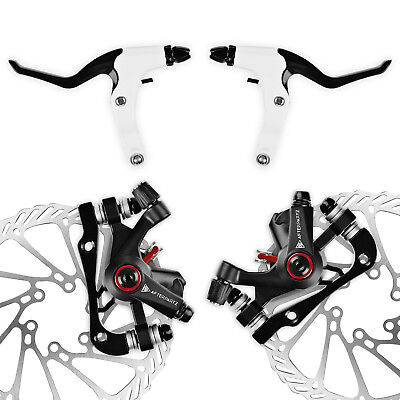 Full Set Bicycle Disc Brake BB5 BB7 MTB Mechanical Front and Rear 160mm Rotor